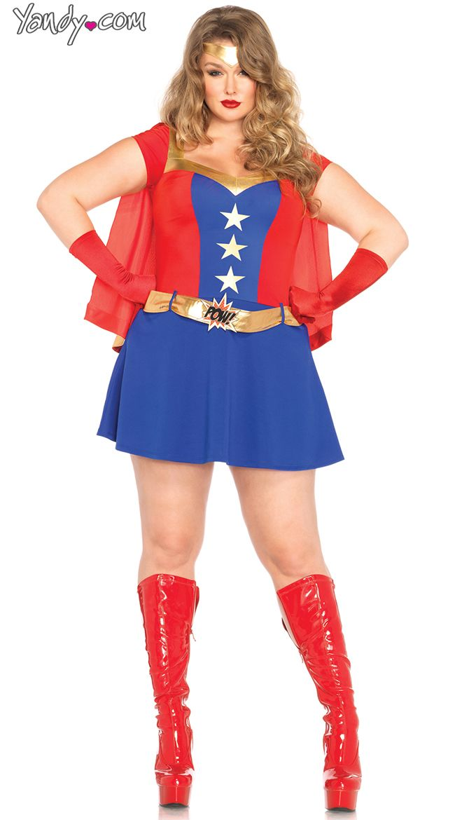 Plus Size Comic Book Girl Costume Holidays Pinterest Costumes