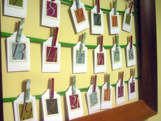 An easy, no-frills advent calendar Advent Calendars Pinterest