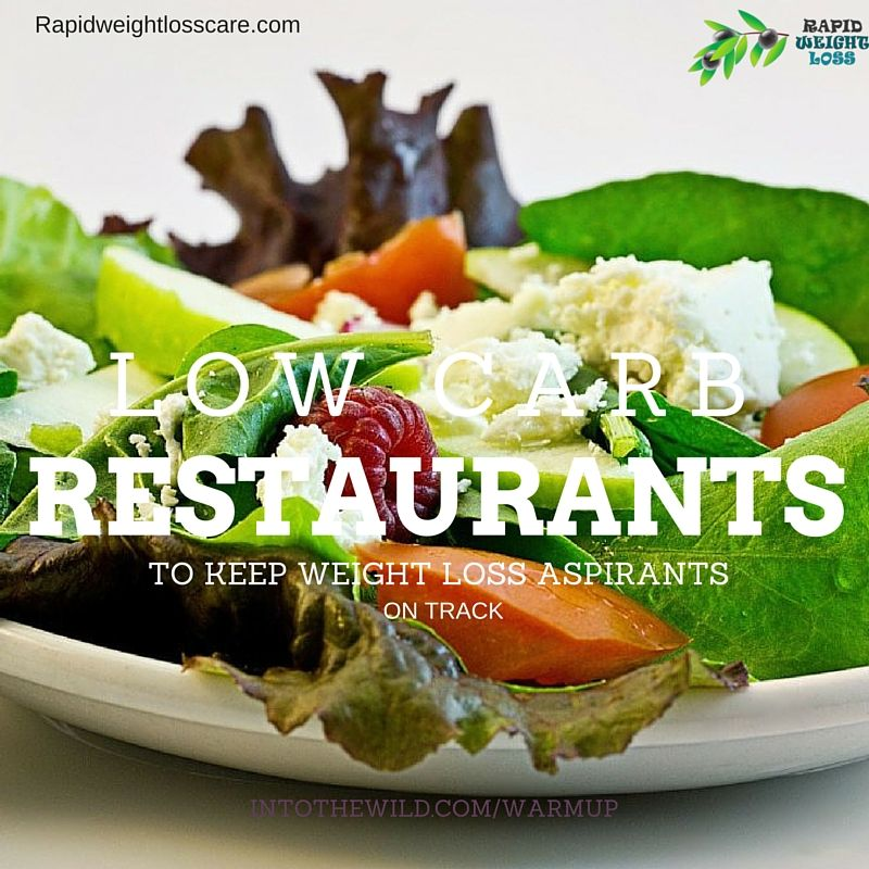 Restaurants with low carb menus that will keep your aspiration for weight loss full