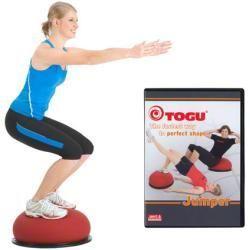 Herbst Mode -  Togu Jumper Set 3-ply, jumper Ø 52 cm incl. DVD, 60 Min. ToguTogu  - #fitness #GymHum...