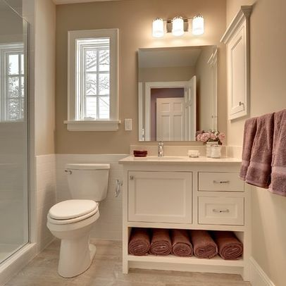 Awesome Simple Basement Bathroom
