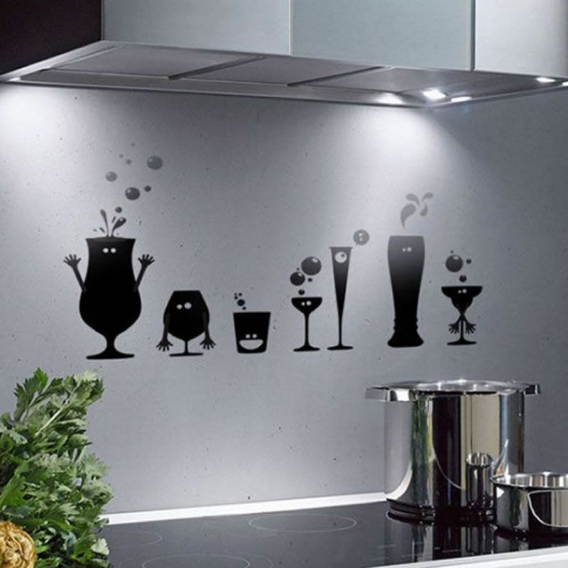 An Overview On Custom Vinyl Stickers Kitchen Wall
