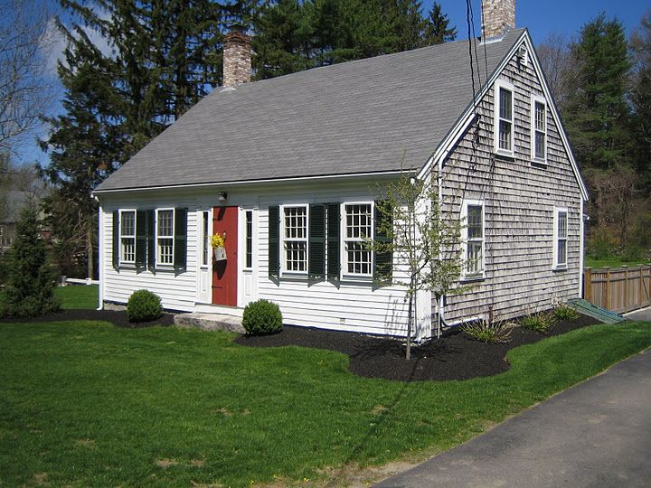 Perfect Cape New England Homes Cape Cod Style House Cape Style Homes