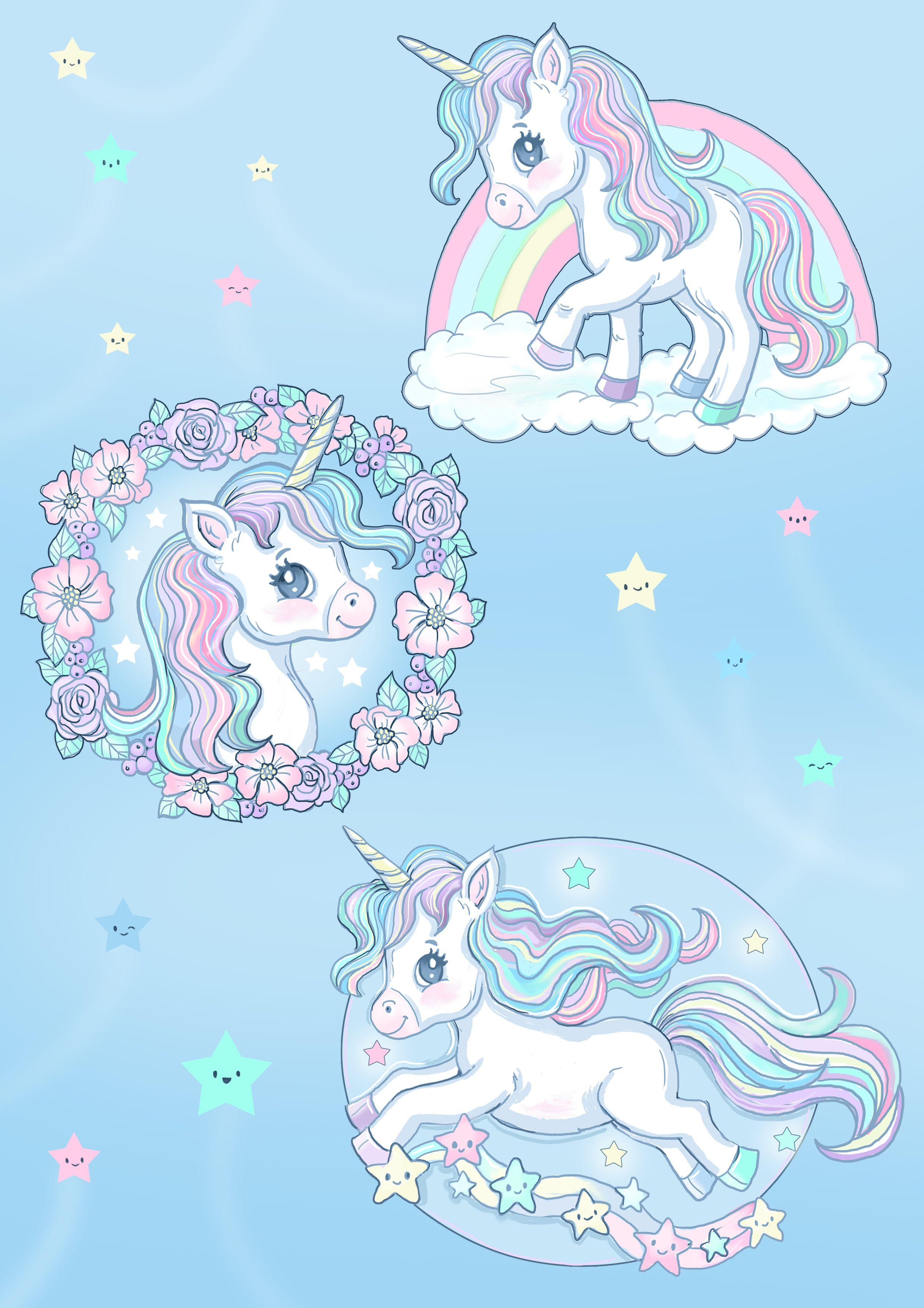 Rainbow Unicorn Face Unicorn Drawing Unicorn Pictures Unicorn