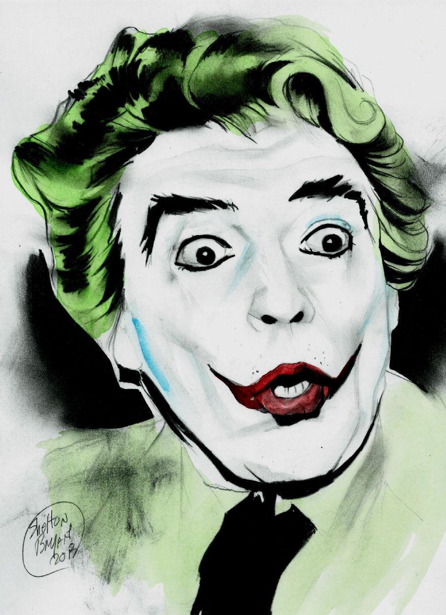 Cesar Romero S Joker By Shelton Bryant Batman Comic