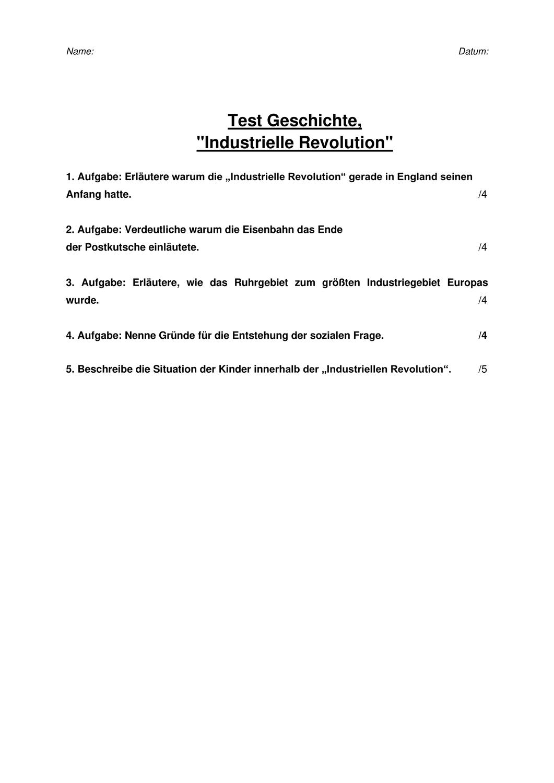 Geschichtstest In 2020 Geschichte Deutsche Geschichte Sekundarstufe