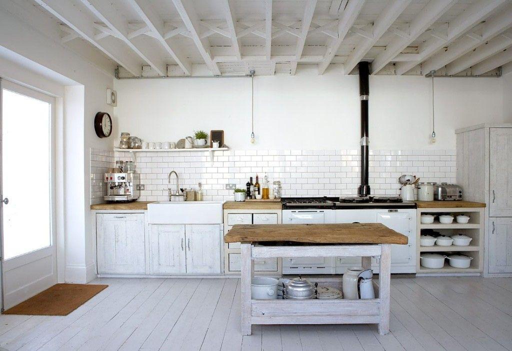 Fotos-de-cocina - Blanco y negro, el yin y el yang de las cocinas