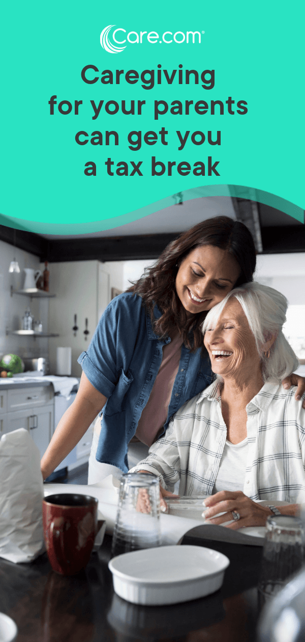 Can caregiving for your parents get you a tax break