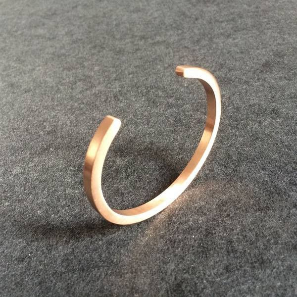 Gold Plated Open Bangle