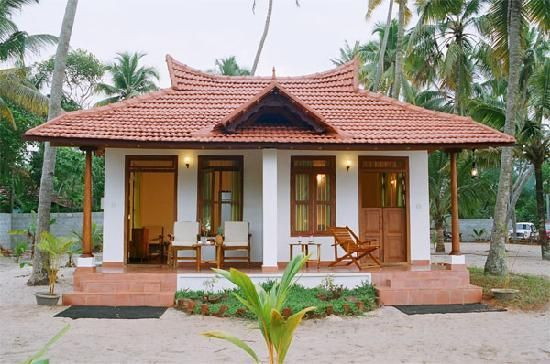 Ananda Beach Home Small Beach Houses Beach Cottage House Plans Village House Design