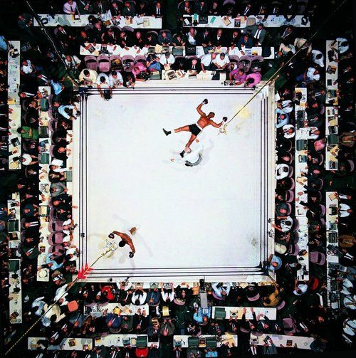 Neil Leifer, Muhammad Ali vs. Cleveland Williams, Houston, Texas, November 1966