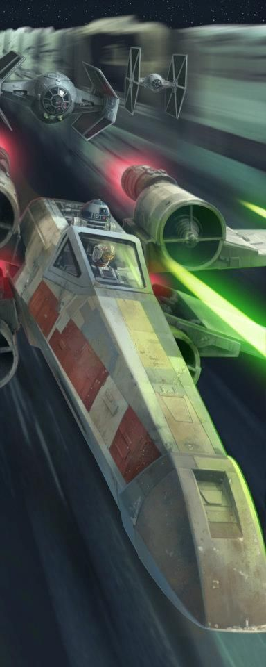 Star Wars; by Chris Trevas