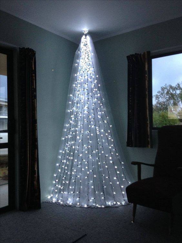 Home Ideas Decorating With Christmas Lights Creative Christmas Trees Alternative Christmas