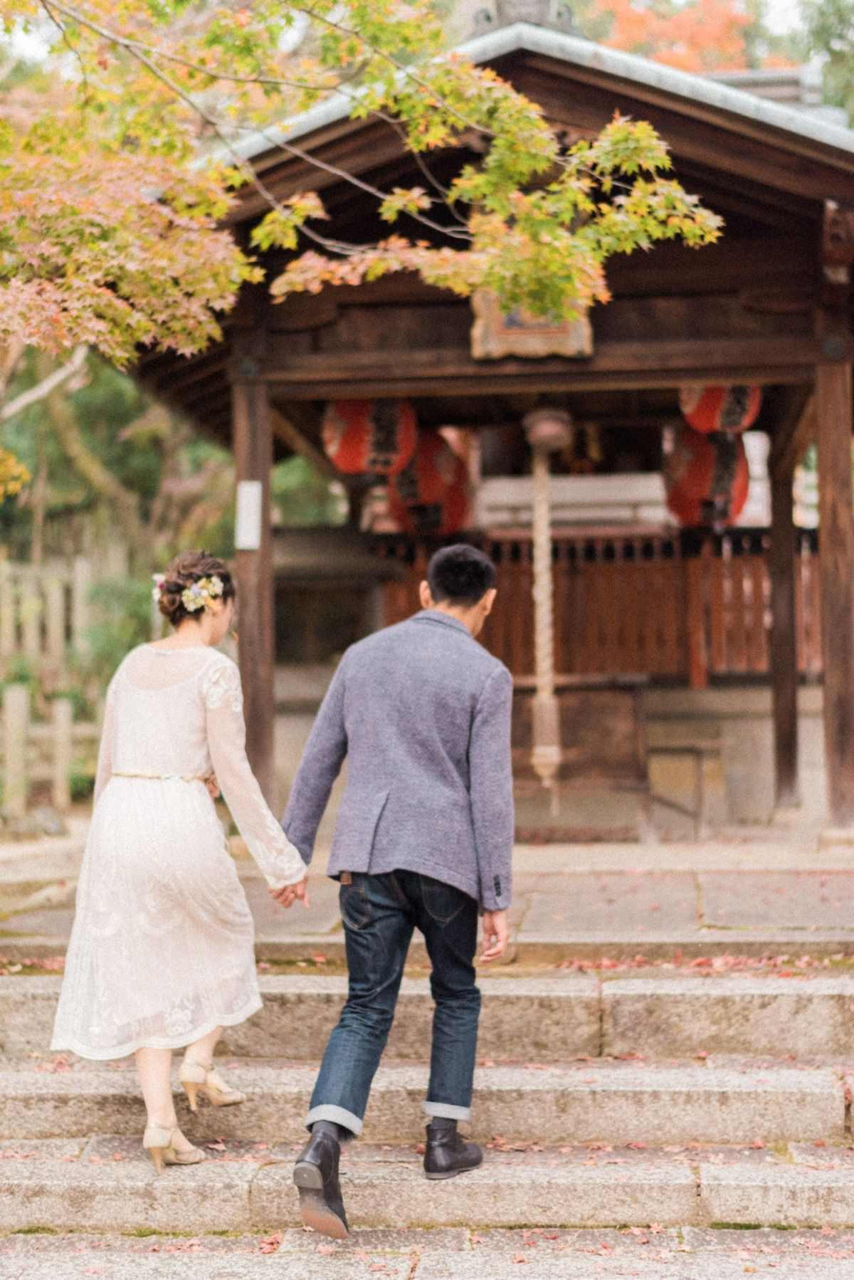 A Traditional Japanese Wedding In The Fall Japanese Wedding Japan Wedding Asian Wedding