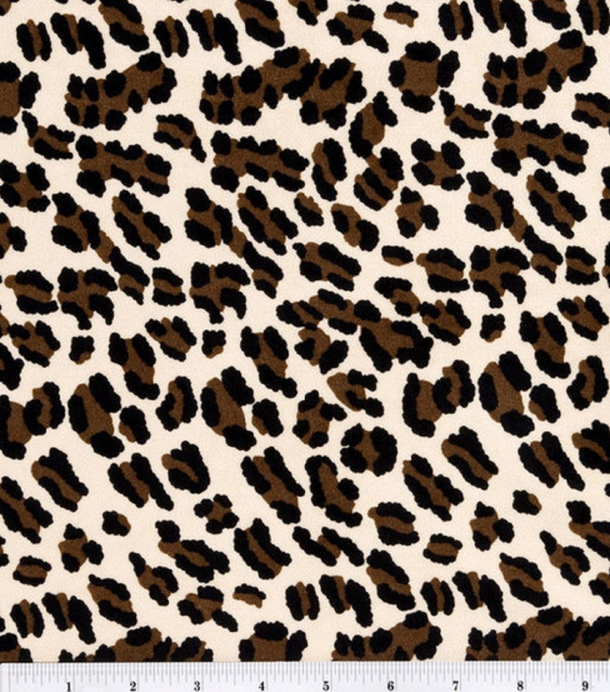 halloween spirit collection cheetah costume suede sewing