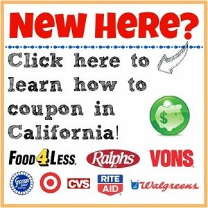 how to order coupons from california