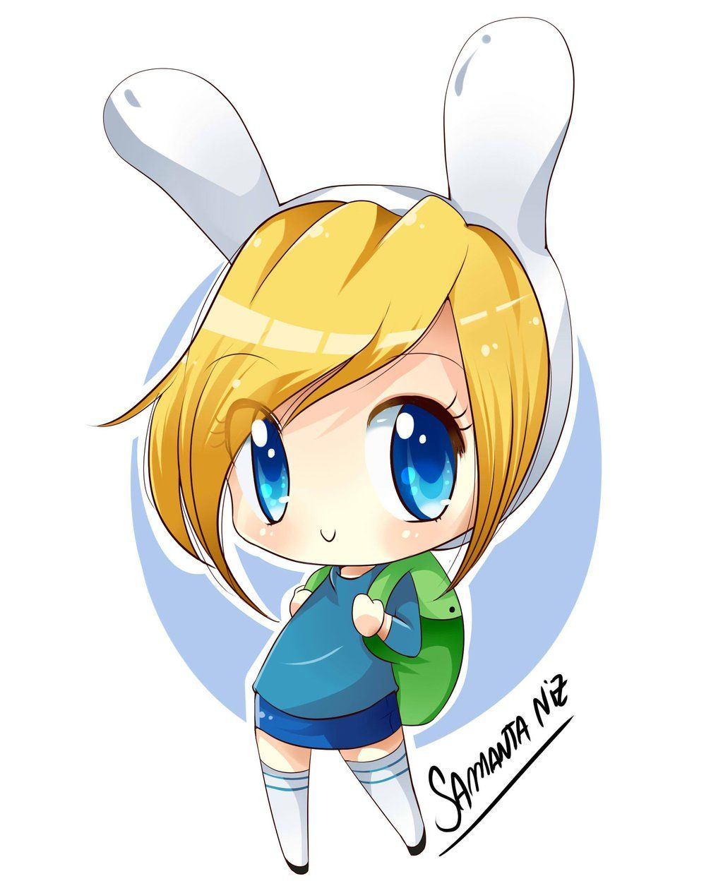 Fionna chibi (With images) Adventure time anime