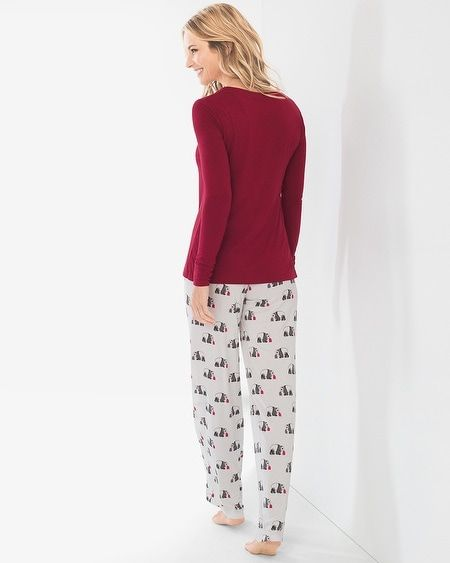 09afeeac43 Chico s Women s Soma for Chico s Panda-Print Pajama Set in 2018 ...