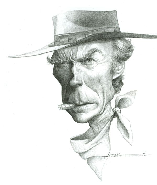 """Clint Eastwood"" by Mehrdad Jamshidi"