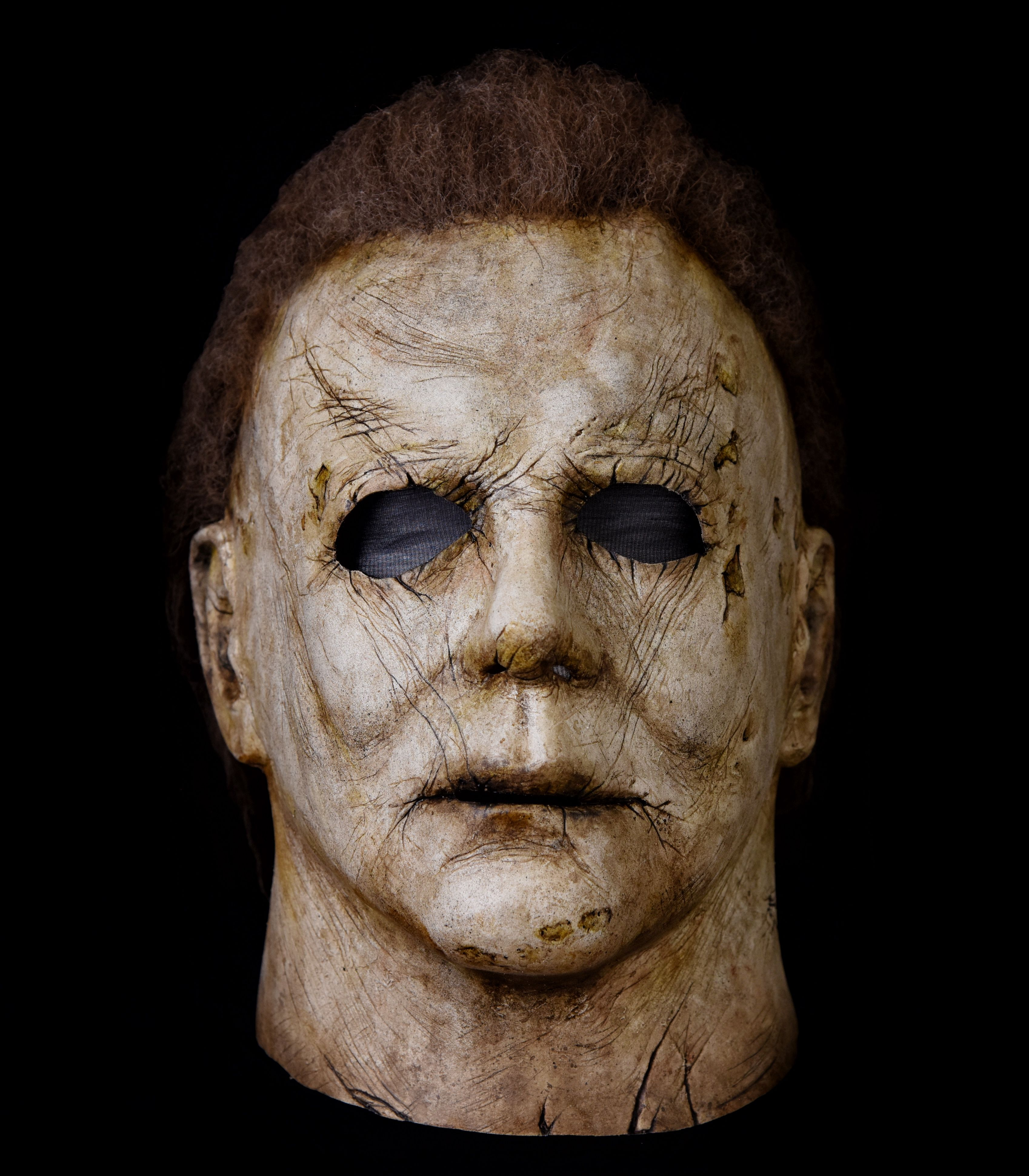 Halloween 2018 Michael Myers mask. Painted by Heath