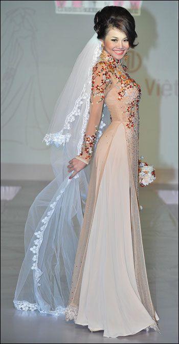 Vietnam Traditional Dress - Ao Dai - Buy Ao Dai Viet Nam Product on ...