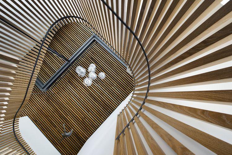 Absturzsicherung Treppe absturzsicherung treppe wand decke holzlatten house