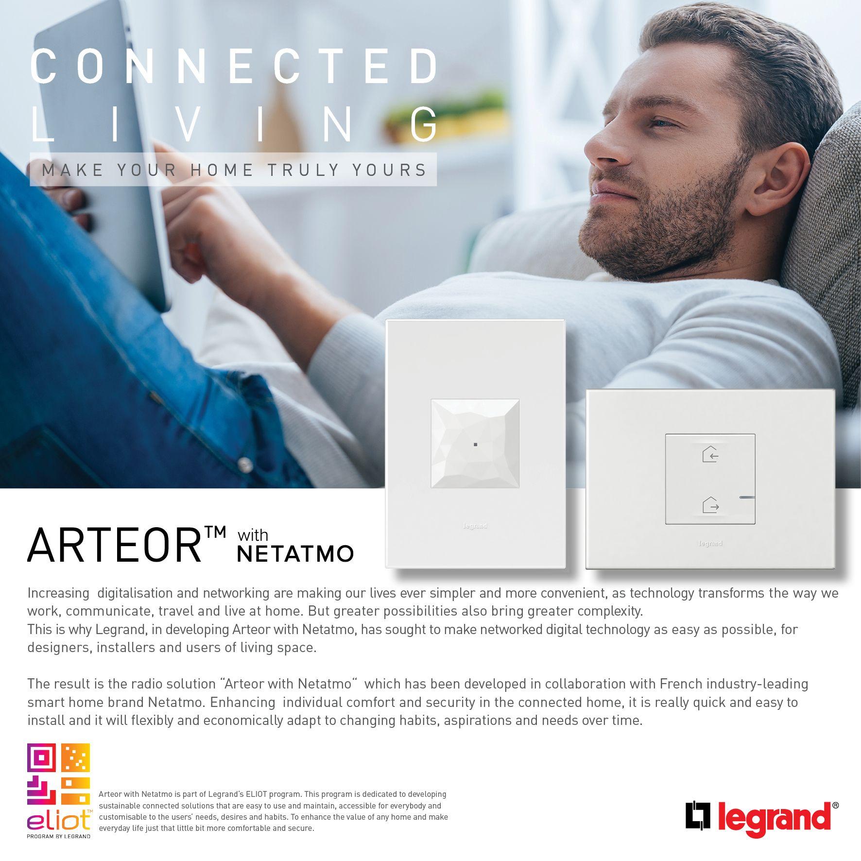 Arteor With Netatmo Enhances Individual Comfort And