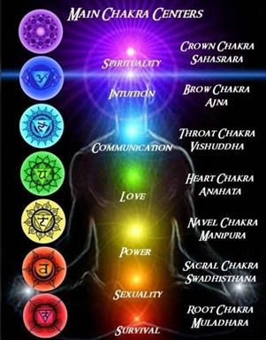 Chakras - the sanskrit sacred centers within us all | Book