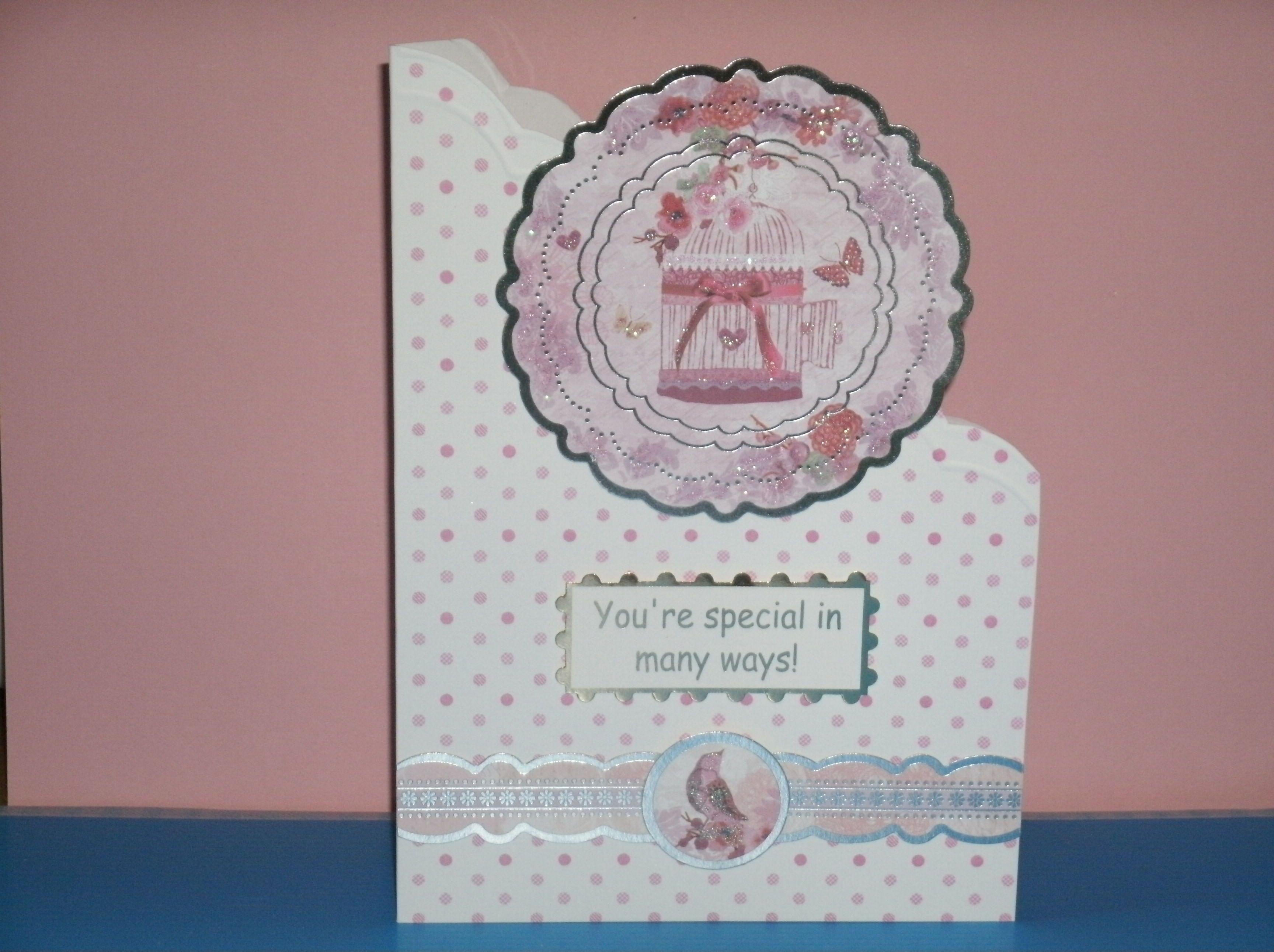 Birthday card handmade by joan croll cards handmade by joan croll