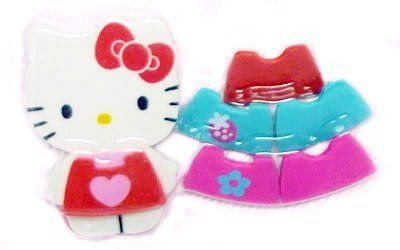 Hello Kitty: 7 Piece Dress Up Kitty Eraser Set by Hello Kitty. $4.99. Dimension & Measurement: Approx 1 to 2-inches. Take your friend Hello Kitty to work or school with this set of fun shaped erasers!. Style your Kitty eraser with one of 6 dresses. Each piece is an eraser too!. You and Kitty can make school or work fun!. Take your friend Hello Kitty to work or school with this set of fun shaped erasers!  Style your Kitty eraser with one of 6 dresses. Each piece is an eras...