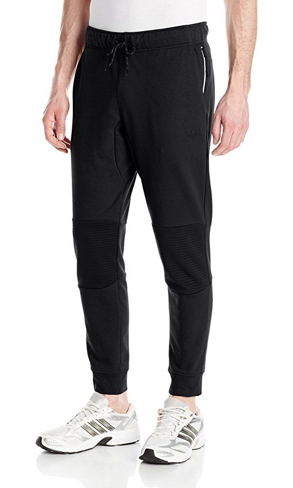 3dcbe55d6 Adidas Originals Men's Sport Luxe Moto Jogger Pant, Small, Black Best Price