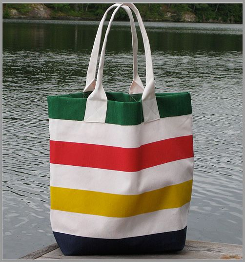 Tote Bag: Roomy, sturdy, and cheerful  $10, Hudson's Bay