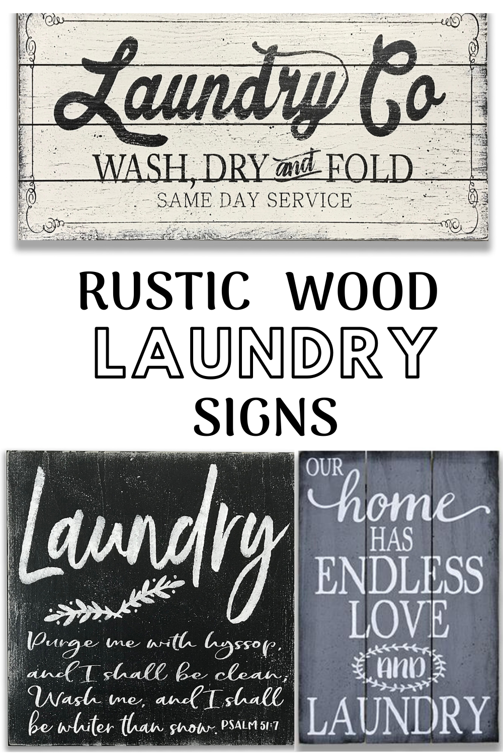 Rustic Wood Laundry Signs In 2020 Laundry Room Wall Decor Wood Laundry Sign Rustic Wood Wall Decor