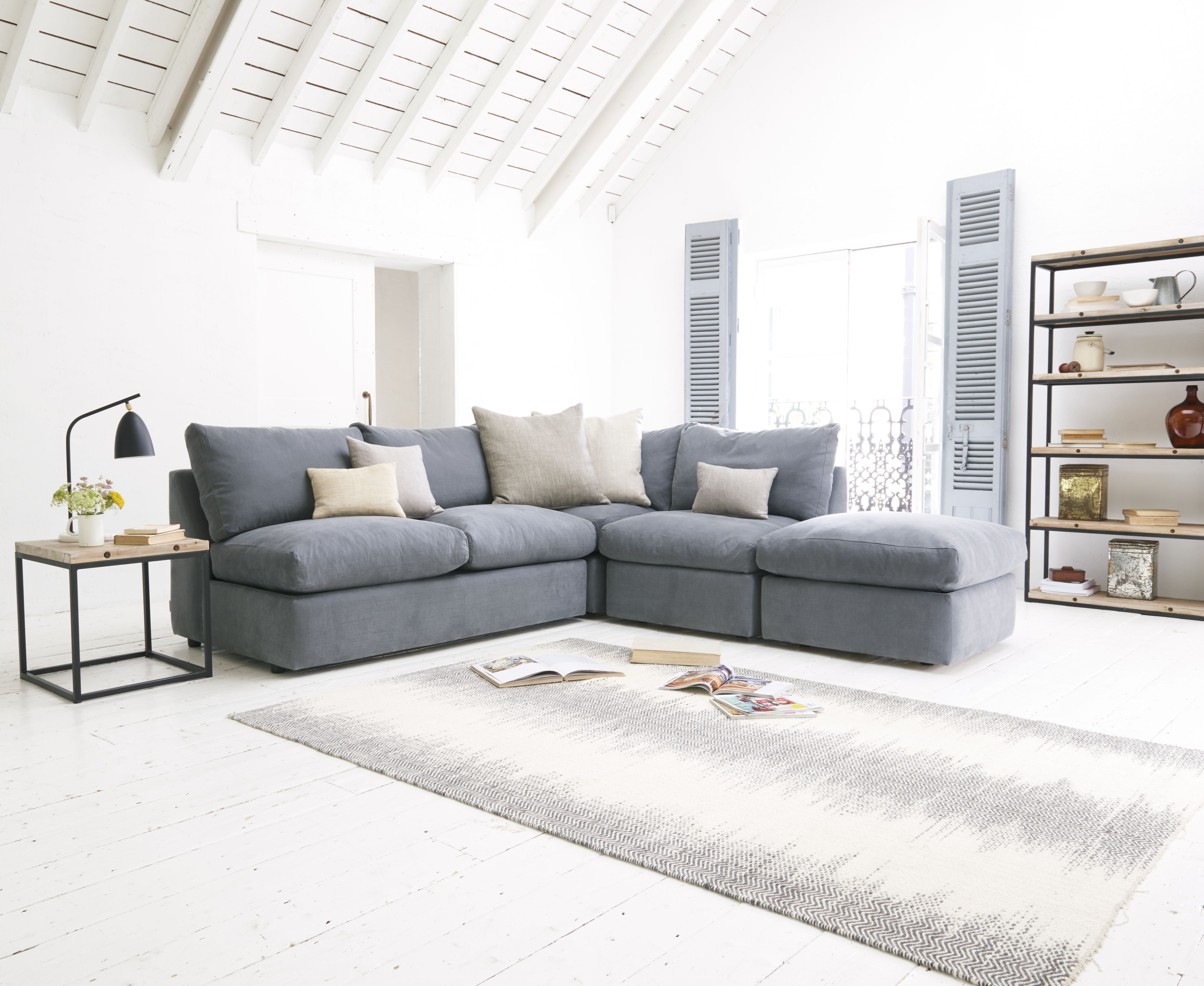 modular lounge with sofa bed adelaide microfiber power reclining sectional storage compartment