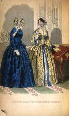 March 1848 Godeys fashion plate