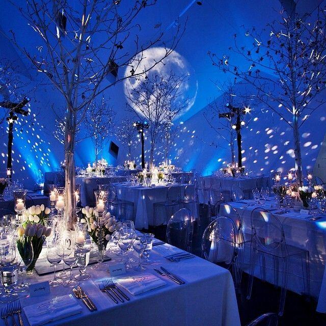 A W I N T E R S N I G H T Wedding Theme In 2020 Starry Wedding Galaxy Wedding Starry Night Wedding