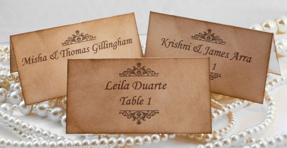 Wedding Place Cards, Table Cards & Escort Cards - Page 20