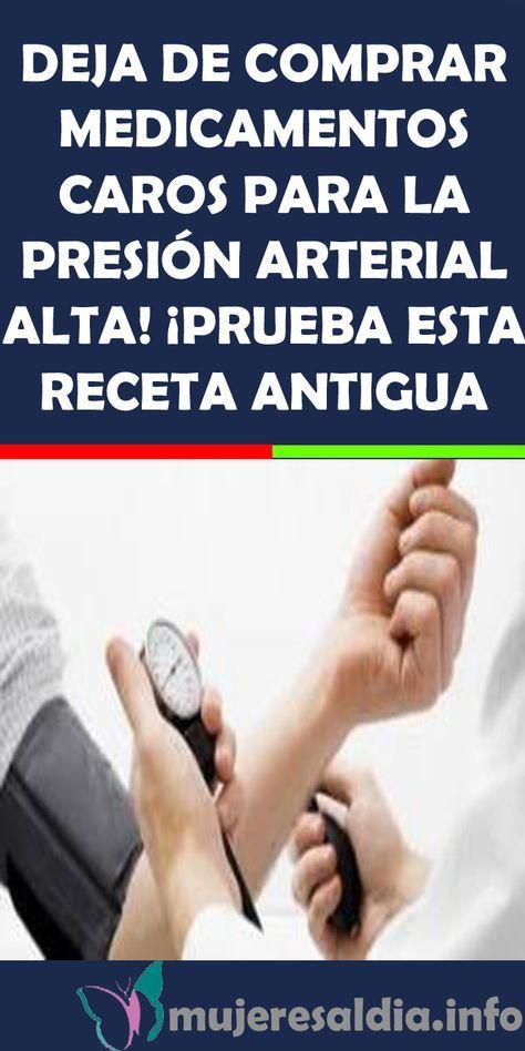 DEJA DE COMPRAR MEDICAMENTOS CAROS PARA LA PRESIÓN..