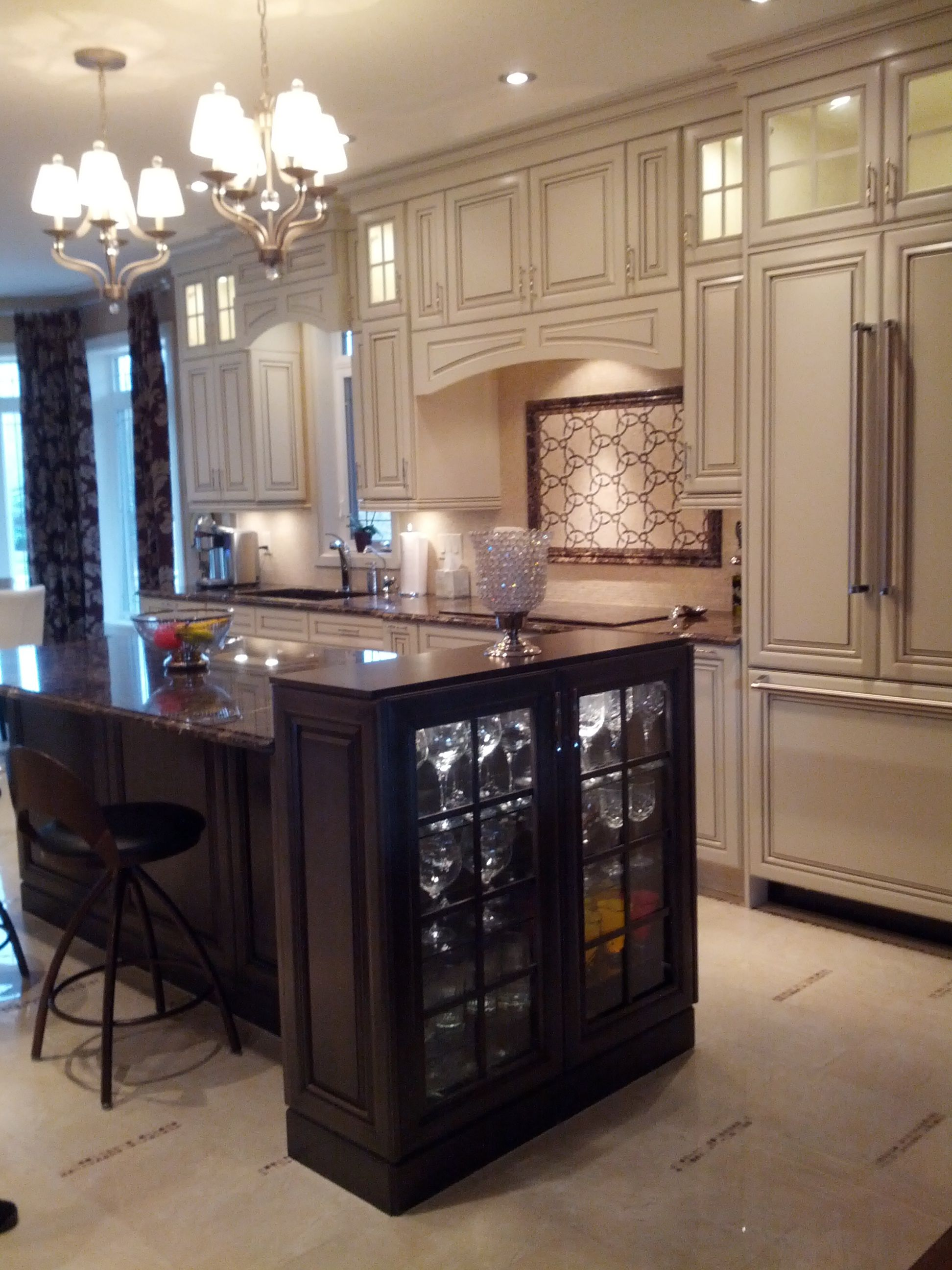 kitchen craft design. Cabinetry  Kitchen Craft color seashell w smoke glaze island weathered slate species