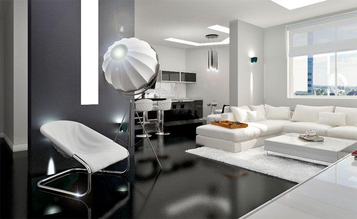 Wohnzimmer Designs Wohnzimmer Ideen High-Tech-Wohnzimmer #Germany