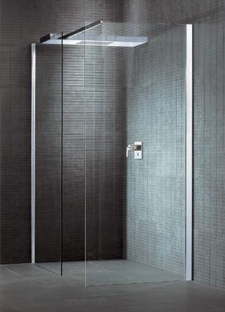 A Clean Minimalist Design The Ciela Shower Cabin By Hoesch Modern Shower Shower Cabin Minimalist Showers