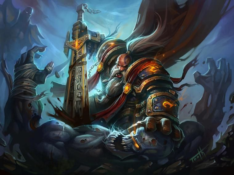 49 Wow Dwarf Wallpaper On Wallpapersafari World Of Warcraft Paladin World Of Warcraft Wallpaper Fantasy Art
