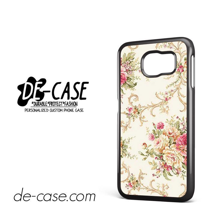 Beautiful Floral DEAL-1634 Samsung Phonecase Cover For Samsung Galaxy S6 / S6 Edge / S6 Edge Plus