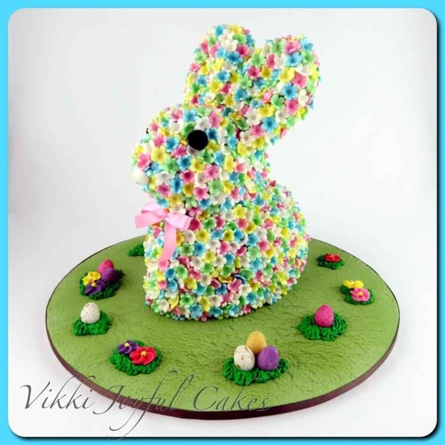 Easter Bunny - Cake by Vikki Joyful Cakes