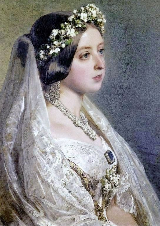 robe de mariée de reine victoria