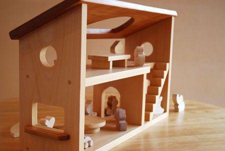 カモンマイハウス 木のおもちゃ なかよしライブラリー