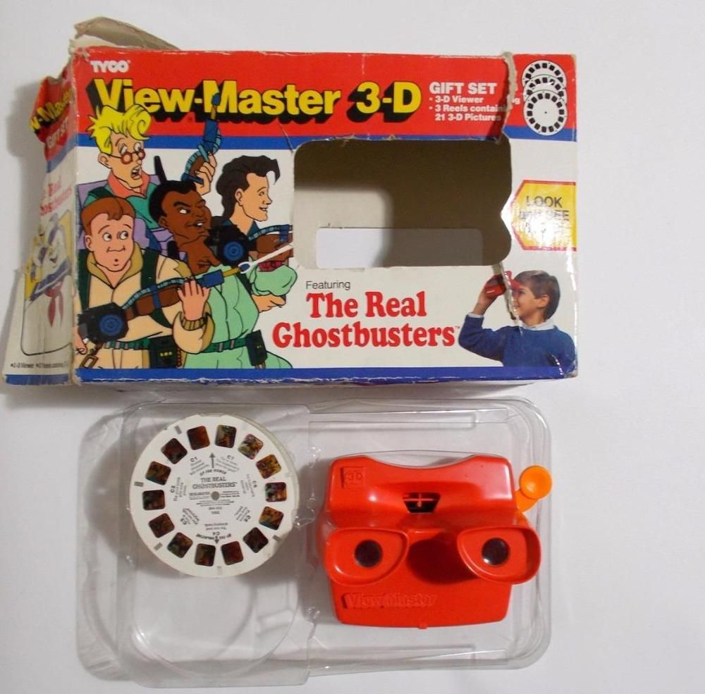 View-Master The Real Ghostbusters 3 Reel Set 21 3-D Images