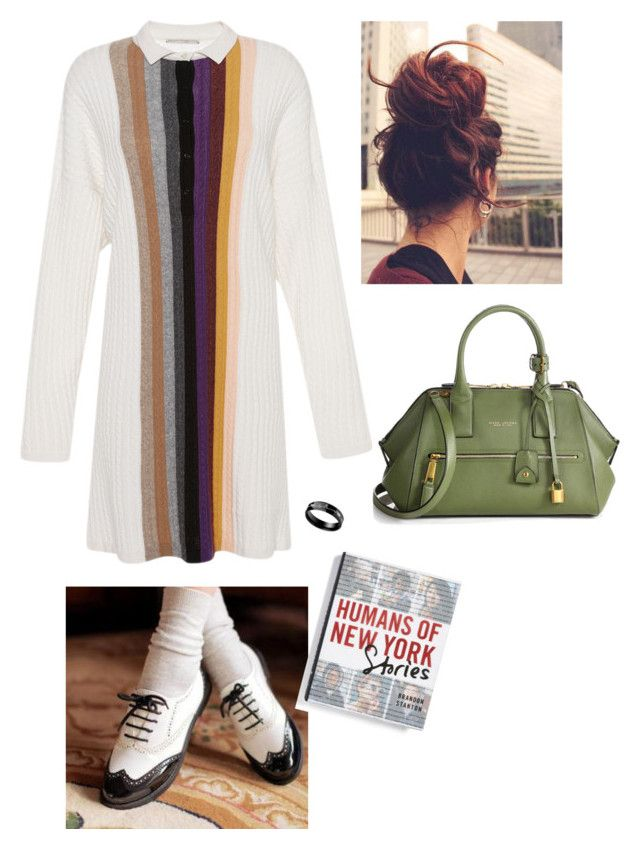 """""""Stripes"""" by empresslal on Polyvore featuring Marco de Vincenzo, Pangmama, Macmillan and Marc Jacobs"""