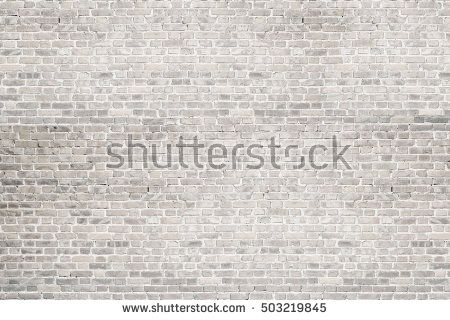 White Wash Brick Wall Texture Background For Text Or Image