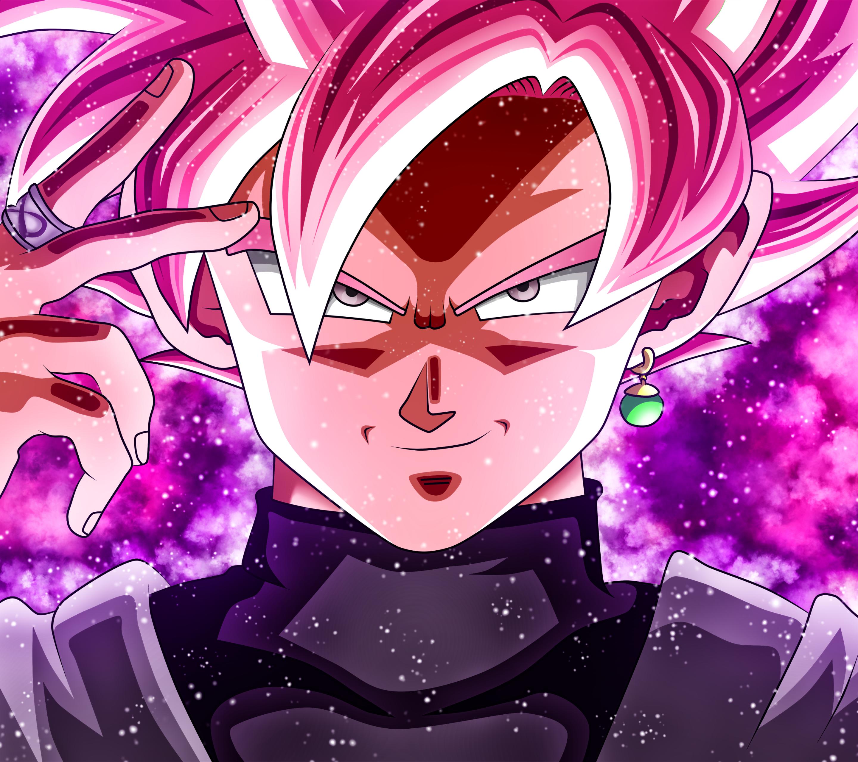 Goku Black Rose Wallpaper HD 4k Dragon ball, Animasi, Gambar